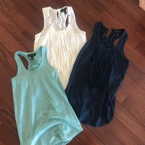 Lot of 3 Jessica Simpson tops XS